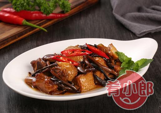 茶樹菇老鴨料理包方便菜
